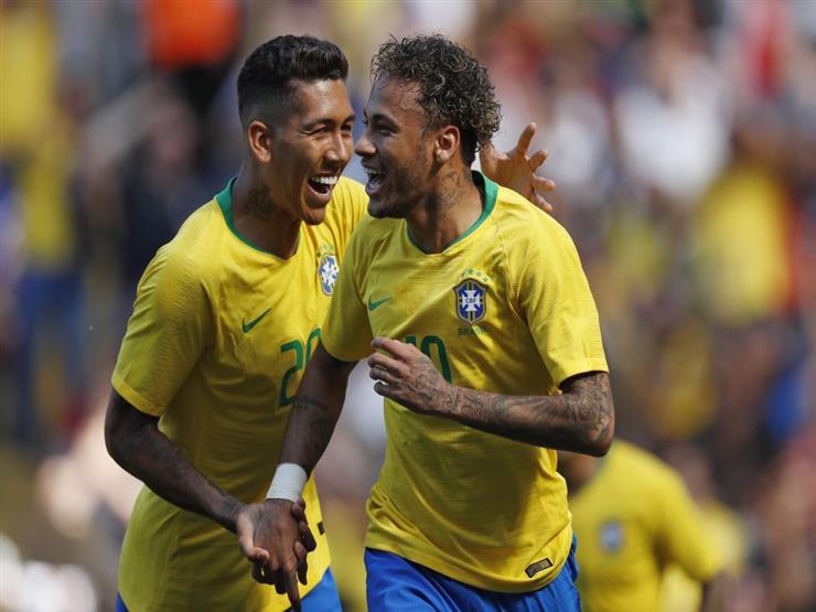"""نيمار وجابريل خيسوس"" يقودان هجوم البرازيل أمام سويسرا...مصراوى"