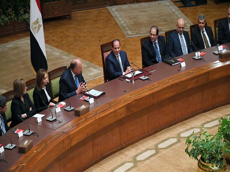 السيسي يطالب السفراء الجدد بنقل واقع مصر الحقيقي للخارج - صو...مصراوى