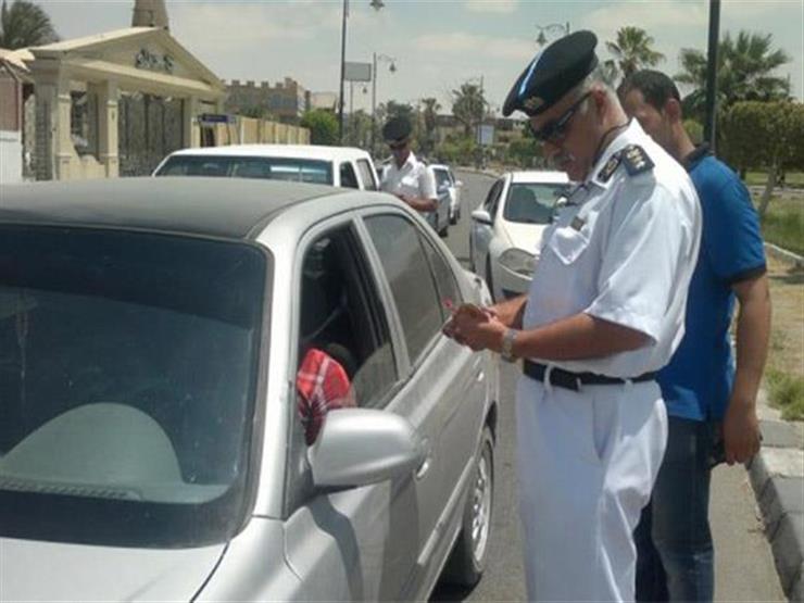 المرور: ضبط 43 ألف مخالفة تجاوز سرعة خلال 24 ساعة...مصراوى
