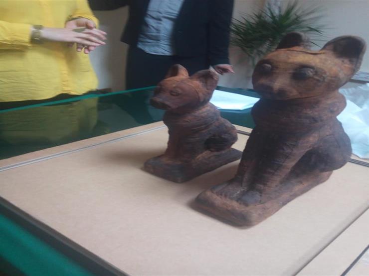 تفاصيل العثور على 7 قطع أثرية داخل مكتب مسئول في كفرالشيخ