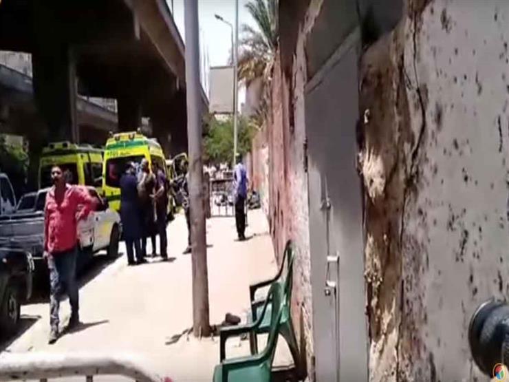 """فيديو  مصراوي في موقع حادث """"أطفال المريوطية"""".. وشاهدة عيان: """"كلب كشف الواقعة"""""""
