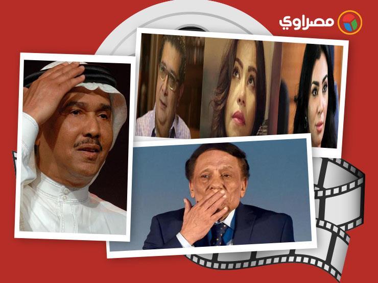 النشرة الفنية  أول فيديو لخناقة زينة وتعليق عادل إمام على إذاعة السلام الجمهوري بالمستشفيات