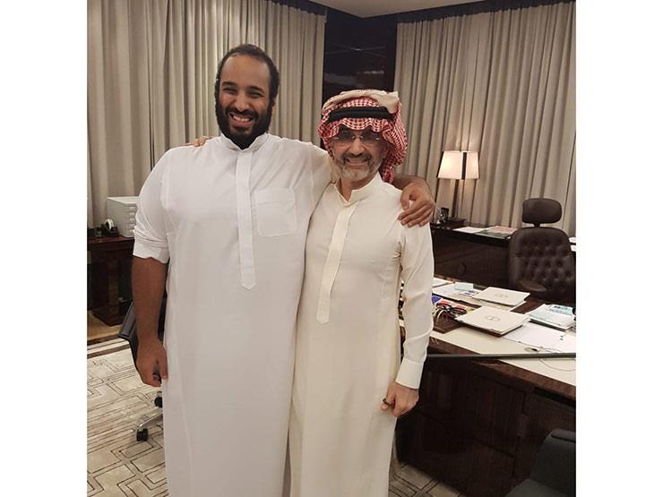 """الوليد بن طلال يظهر مع محمد بن سلمان: سأدعم """"رؤية 2030"""""""