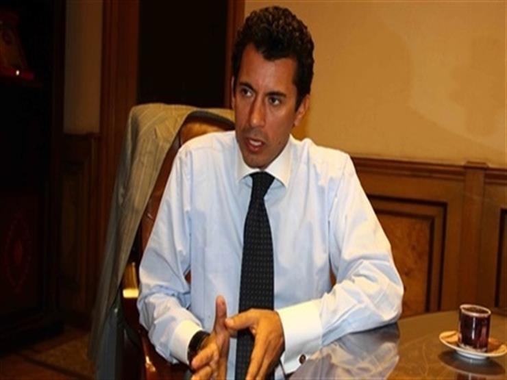 وزير الرياضة يوضح حقيقة تصريحه بترشح مصر لاستضافة المونديال