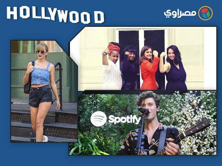 "نشرة هوليوود| تايلور سويفت بالهوت شورت وسيلين ديون تتصدر قائمة ""Billboards"""