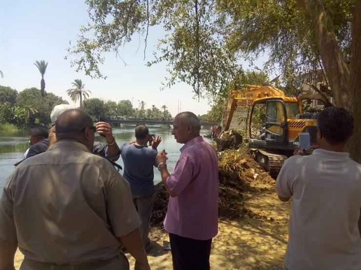 """""""الري"""": إزالة 26 حالة تعد على نهر النيل في الغربية وكفر الشيخ"""