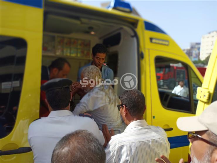 15bbef91c مصدر أمني: إصابة أحد أعضاء نقابة التجاريين في حريق كافيتريا النقابة  التجاريين