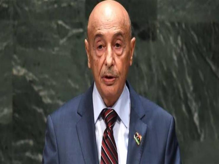 """رئيس """"النواب"""" الليبي: مصرون على طرد الإرهابيين من العاصمة لتوحيد المؤسسات السيادية"""