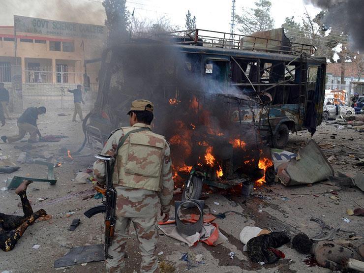 مقتل 20 في تفجير بالقرب من مركز اقتراع بجنوب غرب باكستان