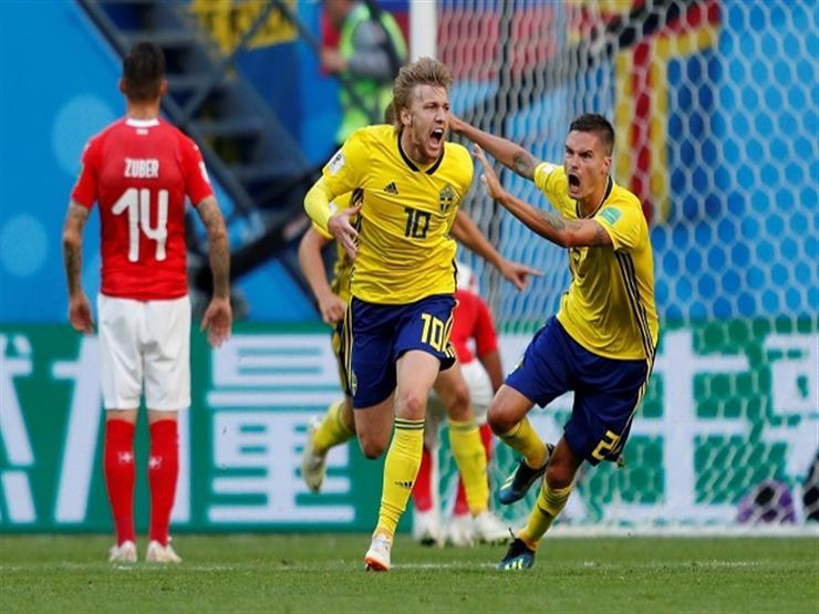 السويد تُقصي سويسرا بصعوبة وتتأهل لربع نهائي كأس العالم