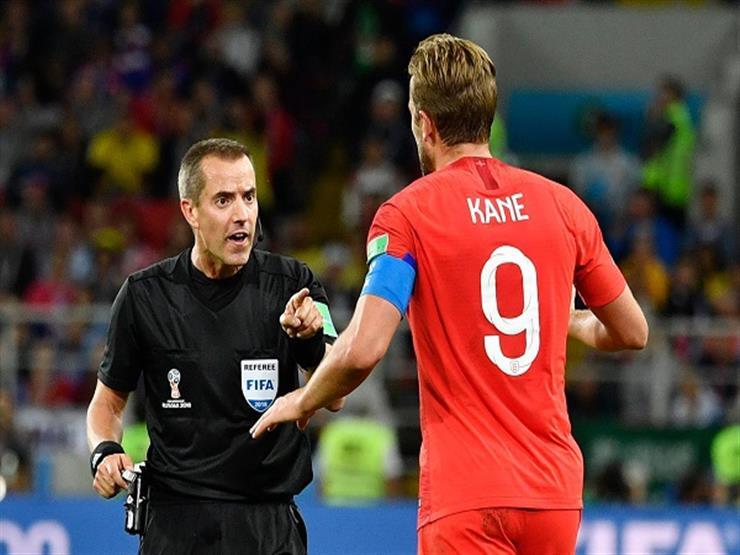 هاري كين يفوز بجائزة رجل مباراة إنجلترا وكولومبيا