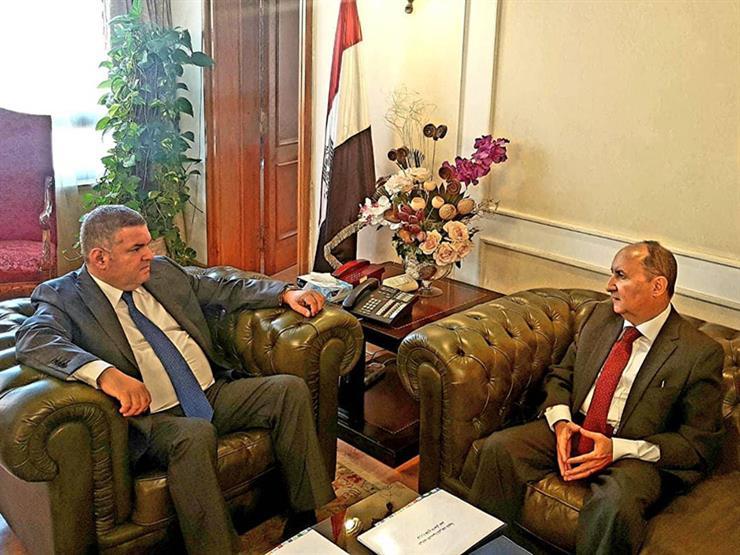 وزيرا قطاع الأعمال العام والصناعة يبحثان تعزيز التعاون المشترك