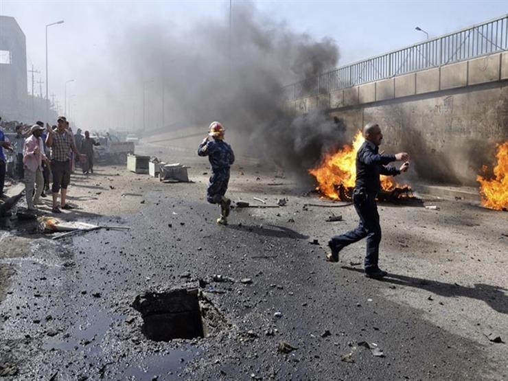 مقتل شخص وإصابة 7 بإنفجار عبوتين ناسفتين في بغداد