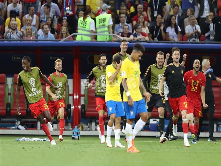أهداف مباراة بلجيكا والبرازيل