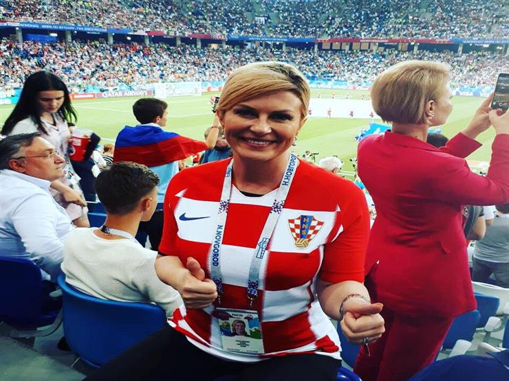 أول تعليق من رئيسة كرواتيا بعد تأهل منتخب بلادها لنصف نهائي المونديال