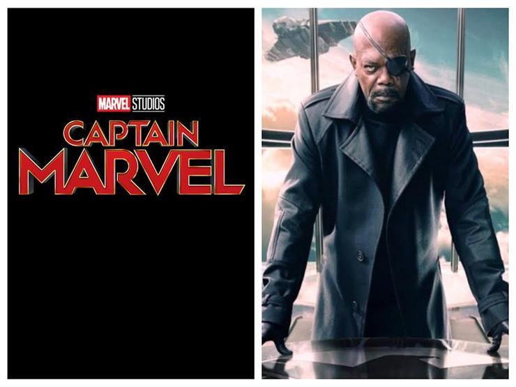"""""""Captain Marvel"""" يُعيد صامويل جاكسون 25 عامًا للوراء"""