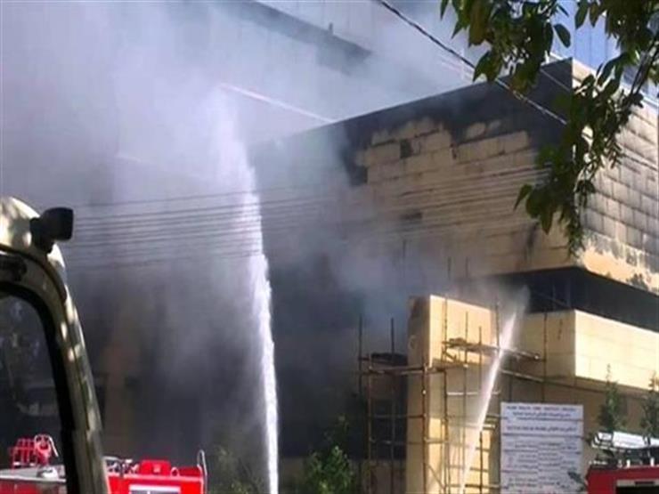 السيطرة على حريق داخل المستشفى الجامعي في شبين الكوم