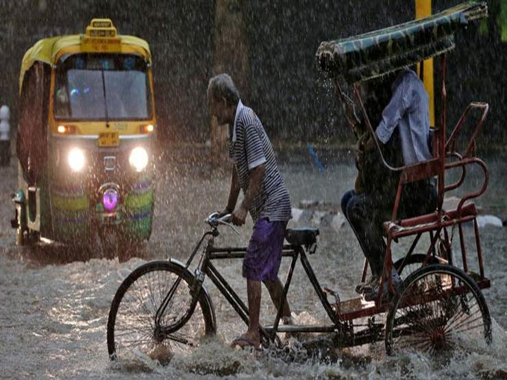 وفاة 28 شخصًا في ولاية هندية وتقطع السبل بعشرات السياح بسبب الأمطار الغزيرة