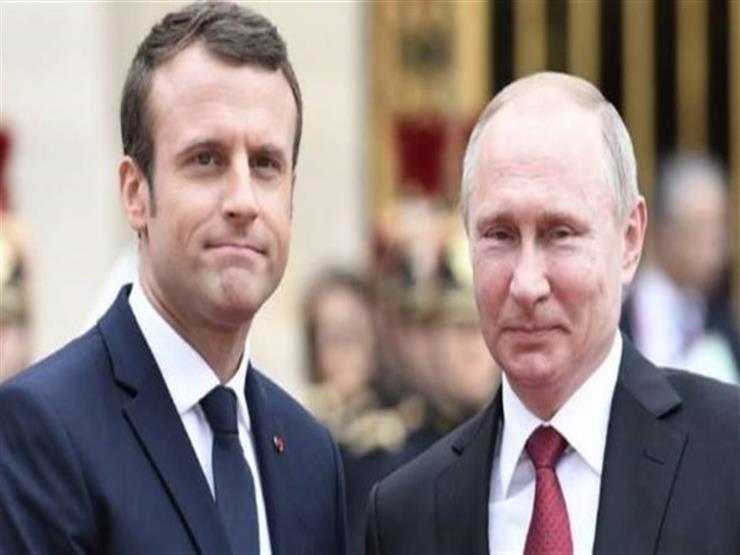 بوتين وماكرون يبحثان الأزمة السورية