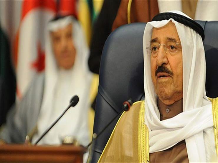 أمير الكويت يعزي السيسي في ضحايا حريق إيتاي البارود