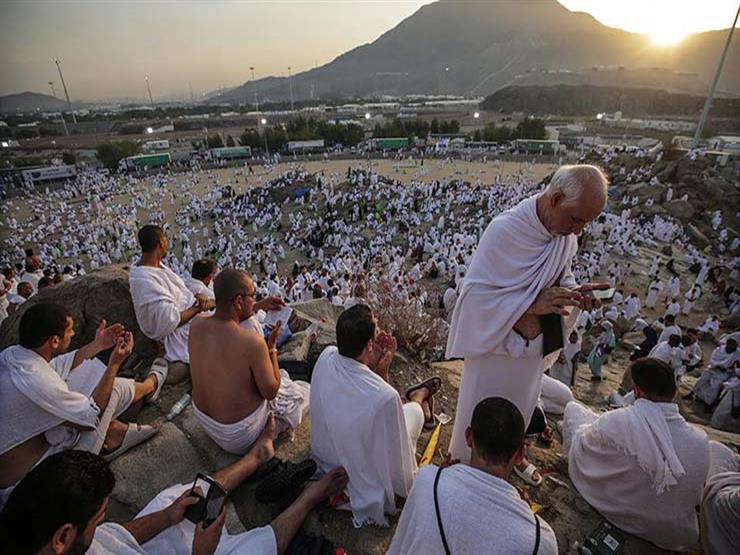 بث مباشر صعود الحجاج إلى جبل عرفات مصراوى