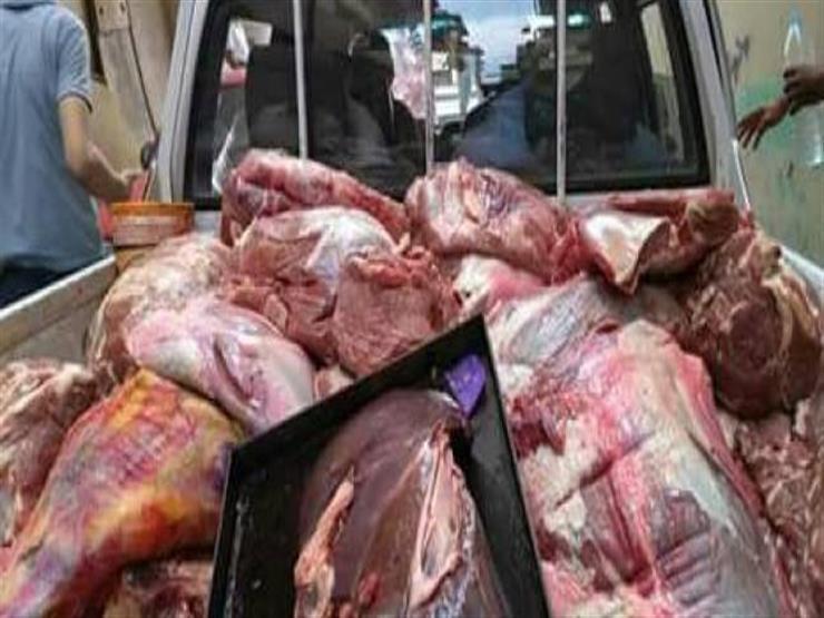 ضبط 500 كيلو لحوم فاسدة في حملة تموينية بدمياط
