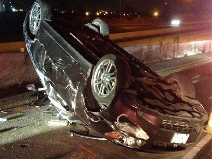 إصابة 5 من أسرة واحدة في انقلاب سيارة بالوادي الجديد