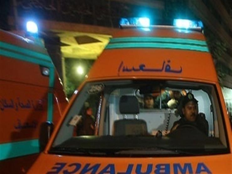 إصابة 3 مجندين وأمين شرطة في حادث على الطريق الدولي برأس سدر