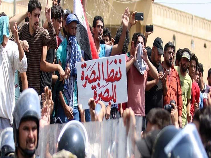 اعتصام في محافظة البصرة العراقية للمطالبة بتوفير الخدمات وفرص العمل
