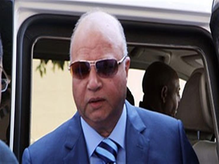 اللواء خالد عبدالعال محافظ القاهرة الجديد يصل الديوان العام