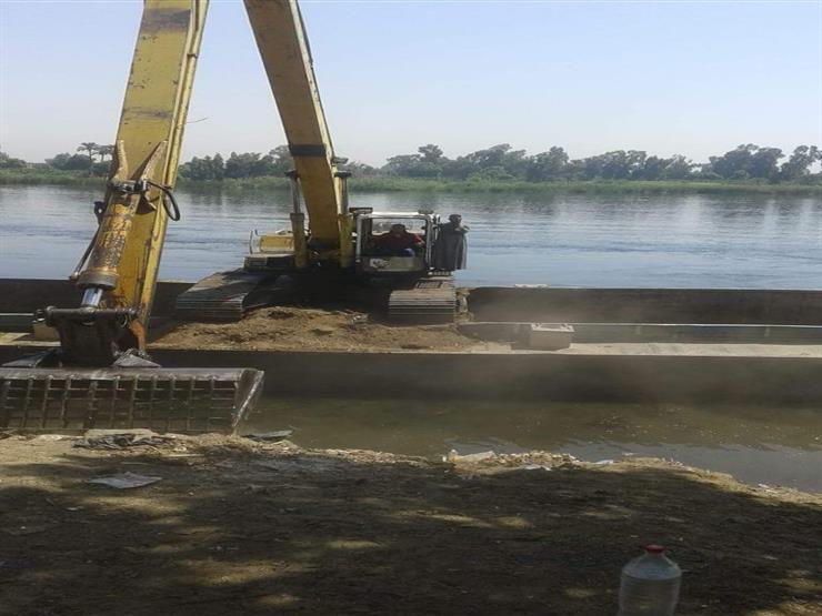 """""""الري"""": إزالة 7 حالات تعدٍ على نهر النيل في محافظتين اليوم"""