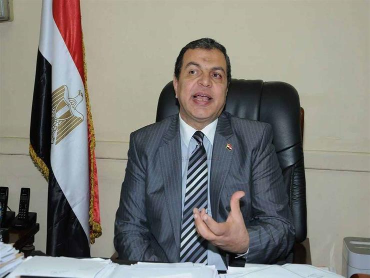 وزير القوى العاملة يوقع اتفاقية عمل مع  النساجون الشرقيون  ل...مصراوى