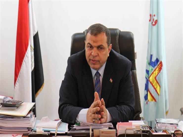 وزير القوى العاملة للآباء:  بتساعدوا ولادكم على البطالة ...مصراوى