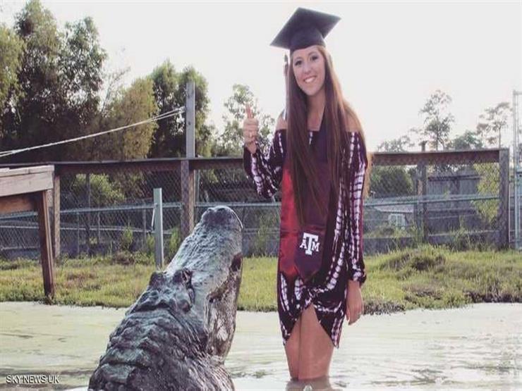 طالبة أمريكية تحتفل بتخرجها من الجامعة بطريقة مختلفة