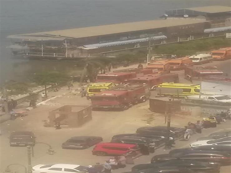 ننشر أسماء المتوفين والمصابين في حريق المطعم العائم بالمنصورة