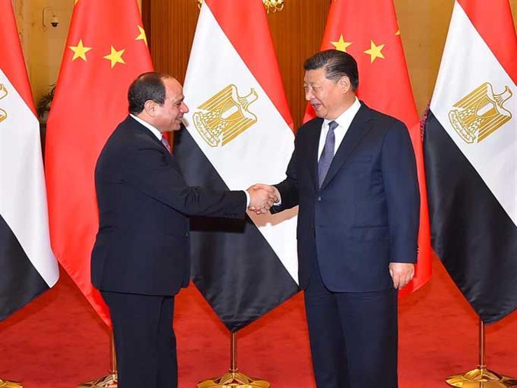 """""""6 قمم و17 لقاءً"""".. تقرير يرصد محطات العلاقات المصرية الصينية في عهد السيسي"""
