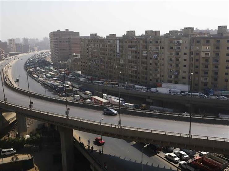 """إعادة فتح """"دائري اللبيني"""" بعد حريق الـ60 دقيقة بمخزن حي الهرم"""