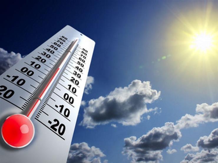 الأرصاد: طقس الثلاثاء مائل للحرارة.. والقاهرة 34