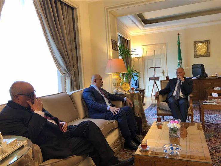 أبو الغيط يبحث مع وزير خارجية اليمن تطورات الأزمة مع الحوثيين