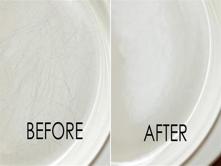 كيف تتخلصين من البقع الصعبة في خدوش الأطباق؟