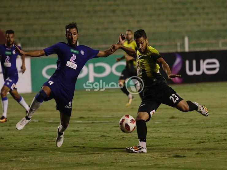 """بالفيديو والصور.. أحمد علي """"هداف الدوري"""" يقود المقاولون للفوز على سموحة"""
