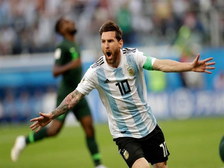 صحيفة: ميسي يقود الأرجنتين أمام مصر بالدورة الودية