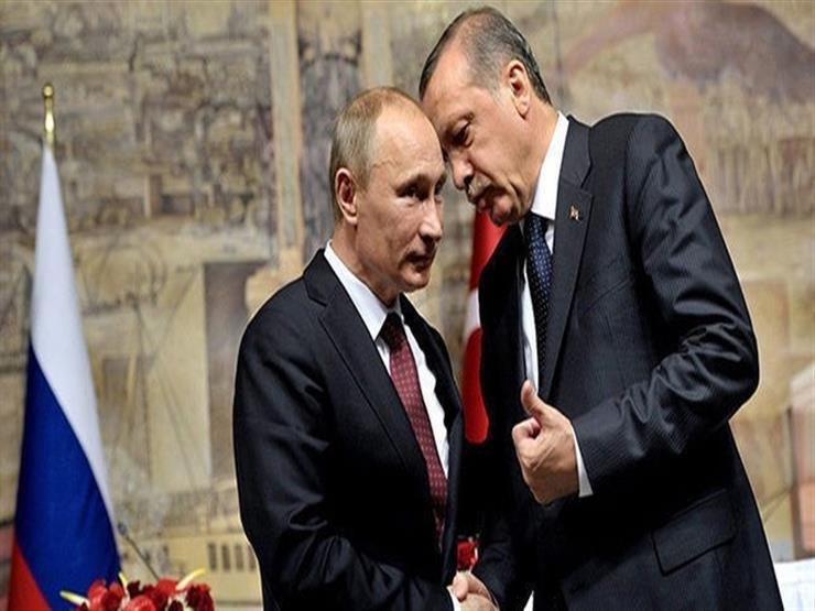 بوتين وأردوغان يبحثان هاتفيا الوضع في منطقة البحر الأسود والتطورات السورية