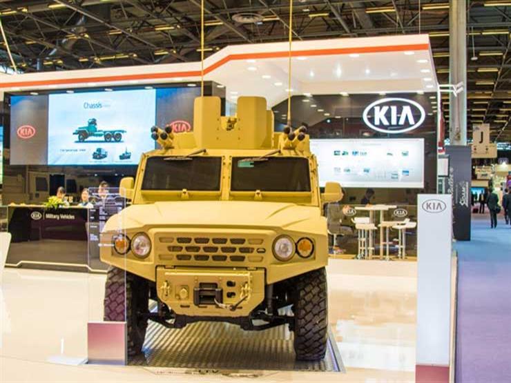 """""""كيا"""" تشارك بسياراتها في معرض للصناعات العسكرية"""