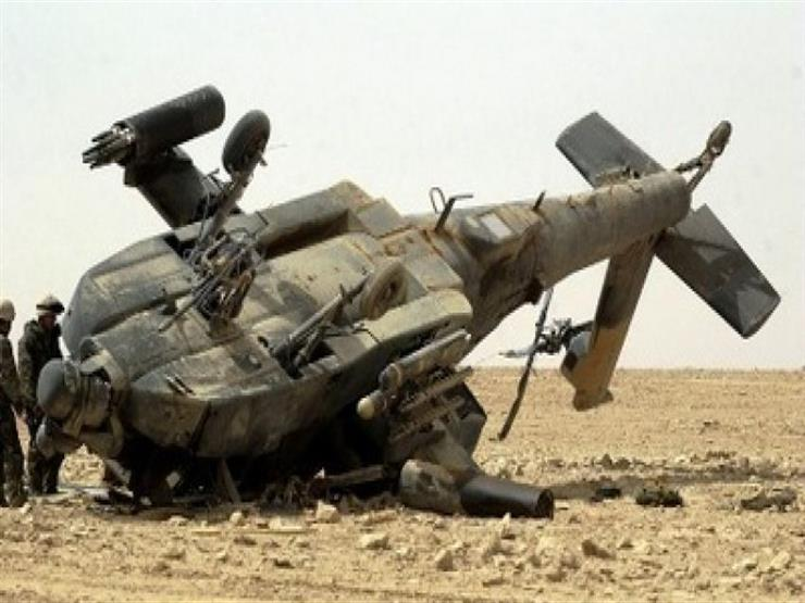 سقوط مروحية تابعة للتحالف العربي إثر خلل فني في اليمن
