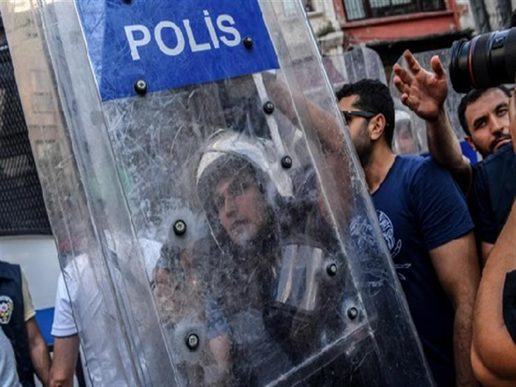 قوات الأمن التركية تطلق الغاز المسيل للدموع على مظاهرة عمالية