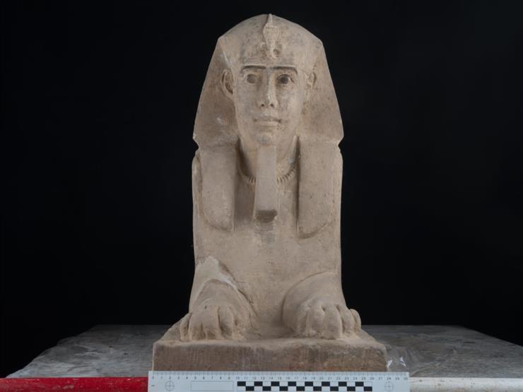 اكتشاف تمثال جديد لـ أبوالهول  في معبد كوم أمبو بأسوان ...مصراوى