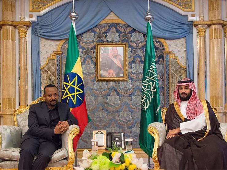 ولي العهد السعودي يبحث مع رئيس الوزراء الإثيوبي أوجه التعاون الثنائي (صور)