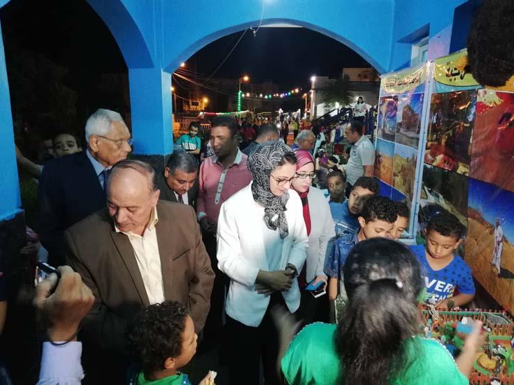 نائب محافظ الوادي الجديد تشهد ختام أنشطة مكتبة مصر العامة...مصراوى