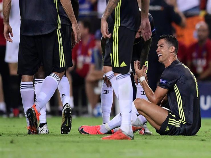 بالفيديو.. رونالدو يتلقى أول بطاقة حمراء مع يوفنتوس في دوري الأبطال